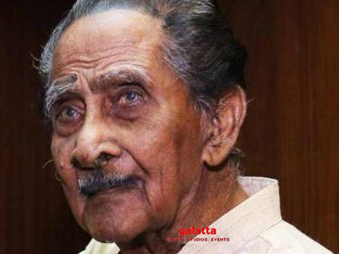 107-year old veteran South Indian actor passes away