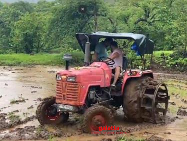 Leading hero spends his weekend farming and driving a tractor-