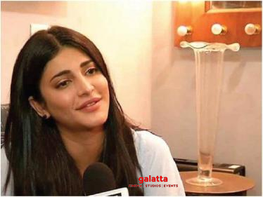 Shruti Haasan confirms acting along with this superstar for a remake