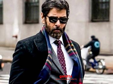 Chiyaan Vikram-Karthik Subbaraj movie title revealed?-