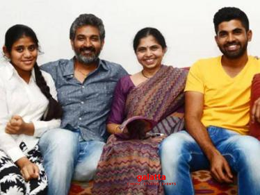 SS Rajamouli and family tested positive for COVID-19