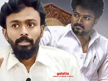 ''It is impossible for Vijay to enter politics...'' Balaji Haasan's prediction-