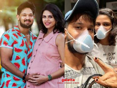 Boys actor Nakkhul to become a dad soon | Heart-warming photos-