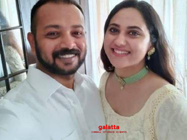 Actress Miya George gets engaged to Ashwin Philip