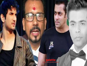 Sushant Singh Suicide Mystery: Cases filed against 8 leading celebrities!-