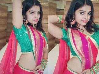 இணையத்தை கலக்கும் தர்ஷா குப்தாவின் டிக்டாக் வீடியோ !