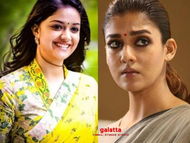 Keerthy Suresh to replace Nayanthara in this blockbuster film's sequel? - Here is the truth!-