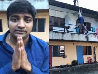 படப்பிடிப்பு தளத்திலிருந்து நடிகர் சதீஷ் வெளியிட்ட வீடியோ !