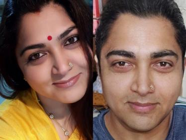 இணையத்தை தெறிக்க விடும் நடிகை குஷ்பு பகிர்ந்த புகைப்படம் !