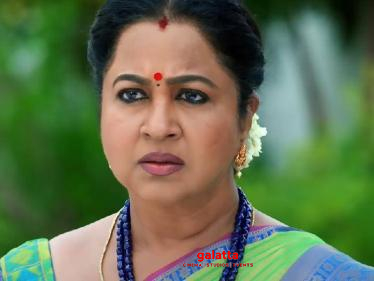 New Announcement: Radikaa's Chithi 2 villi changed - know who it is?
