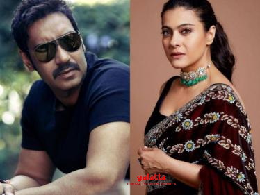 Ajay Devgn denies rumours about Kajol being tested positive for Corona! Check out his statement!  - Tamil Cinema News