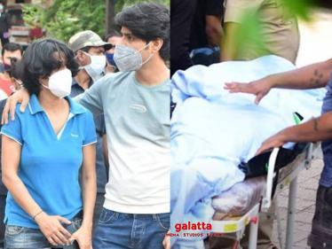 Heart-breaking scenes | Sushant's sister arrives | funeral details-