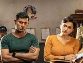 விஷால் நடிக்கும் சக்ரா படத்தின் டீஸர் அப்டேட் !