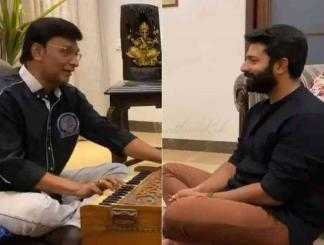 இசையால் இணையத்தை ஈர்க்கும் பாக்யராஜ் மற்றும் ஷாந்தனு !-