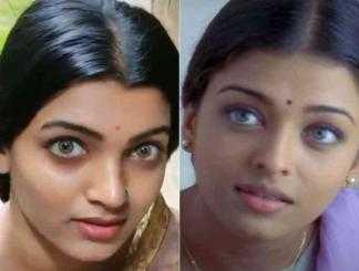 அச்சு அசல் ஐஸ்வர்யா ராய் மாதிரி இருக்கும் டிக்டாக் நடிகை !