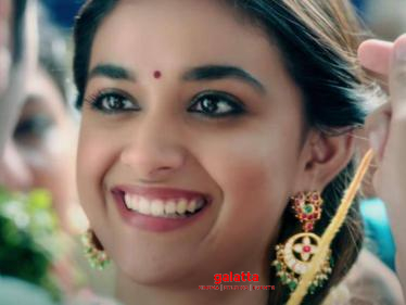 Teaser of Keerthy Suresh's next film released - check out | PC Sreeram | DSP-
