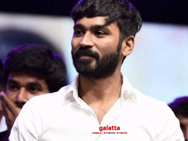 Dhanush's latest emotional statement goes viral - check out! -