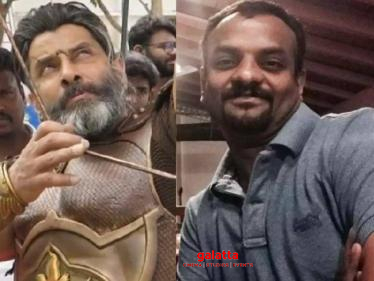 Chiyaan Vikram film's director announces another historical epic film!