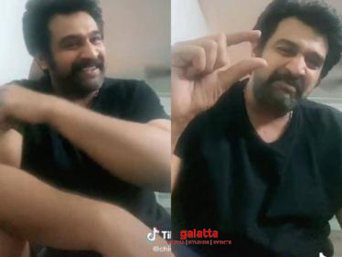 Final moments of Chiranjeevi Sarja's life - seeing his last few TikTok videos will break your heart!