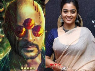 Official: Super Deluxe fame Gayathrie to act in Prabhu Deva's Bagheera - Tamil Cinema News
