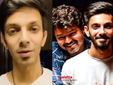Anirudh's review of Master after re-recording for the film | Thalapathy Vijay-