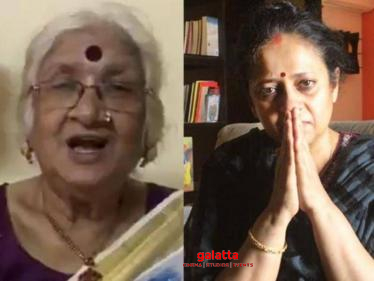 Urvashi's mother's breaking statement on Lakshmy Ramakrishnan-