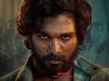 Allu Arjun's next AA20 titled Pushpa - first look poster released   Check out - Tamil Cinema News