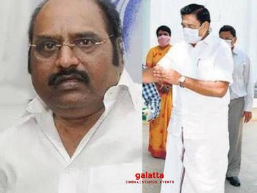 J Anbazhagan's death rumour squashed | Enquires CM Edappadi Palaniswami -
