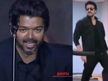 Vaathi Coming Viral treadmill dance in Thalapathy Vijay style-