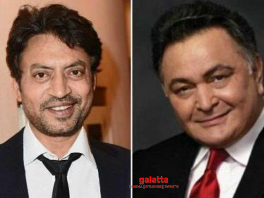 Preetisheel Singh Recollects Memories Of Rishi Kapoor and Irrfan Khan! - Tamil Cinema News