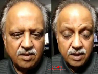 ''What nonsense is this?'' SP Balasubrahmanyam's angry speech-
