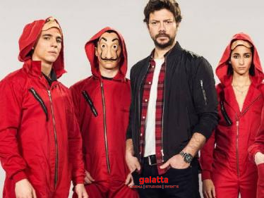 WOW: Great news for Money Heist Fans - Professor is back with a bang! Check Out!-