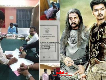 Puli actor adopts four government schools-