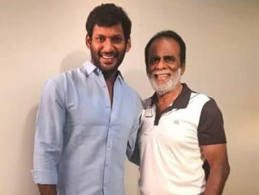 கொரோனா டெஸ்டில் நடிகர் விஷால் மற்றும் அவரது தந்தைக்கு தொற்று உறுதி !     -