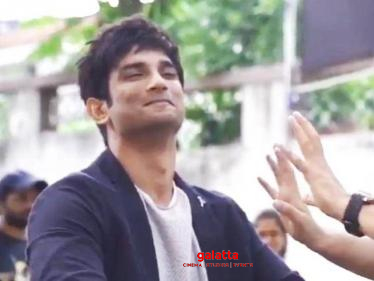 Dil Bechara director shares a fun video of Sushant Singh Rajput from the shooting spot-