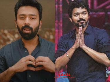 EXCLUSIVE: Thalapathy Vijay's latest message to Shanthnu about 'Oru Chance Kudu' song! -