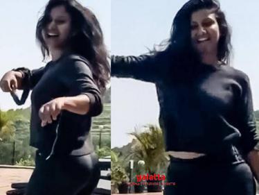 Alya Manasa's latest throwback dance video goes viral on social media - check out! - Tamil Cinema News