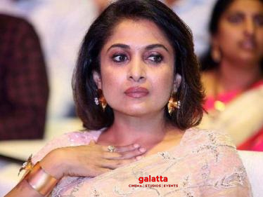 Ramya Krishnan's latest official statement on her next big film!