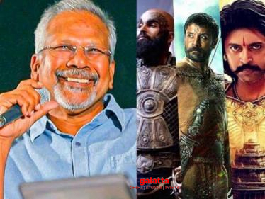 Mani Ratnam's latest statement about shooting Ponniyin Selvan in the post-Corona world!  - Tamil Cinema News