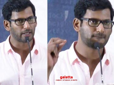 Vishal allegedly cheated by a woman - police complaint filed by Vishal Film Factory manager!