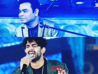 A.R.Rahman shares a fun throwback video | Sid Sriram at his energetic best!