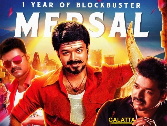 1 Year Of Mega Blockbuster Mersal Celebration Thalapathy Vijay Fans