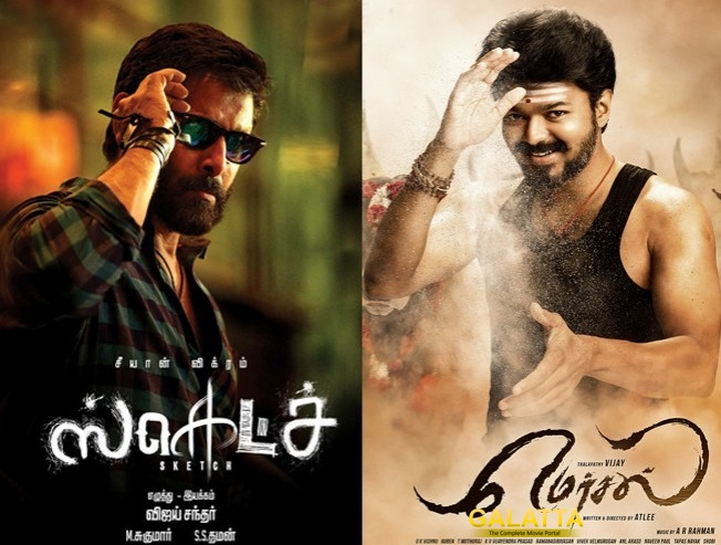 Mersal and Sketch May Clash at Box Office