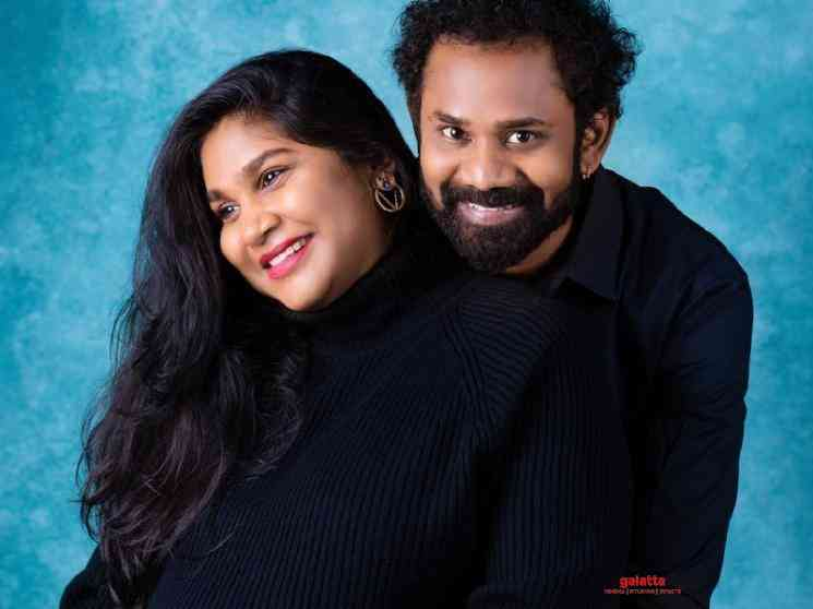 Actor Ramesh Thilak and RJ Navalakshmi blessed with a baby boy - Tamil Movie Cinema News