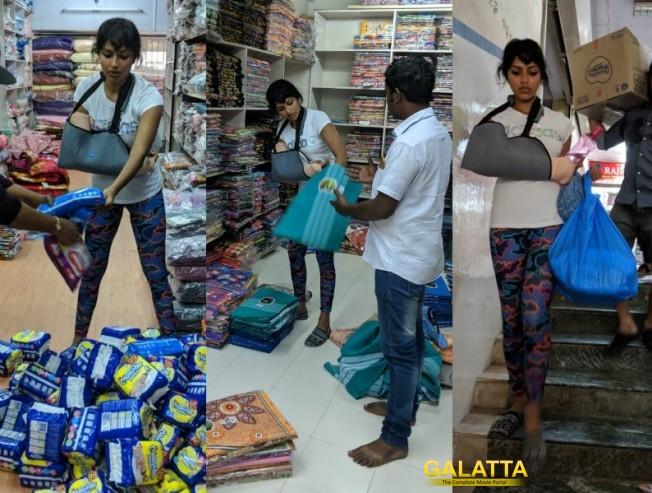 Amala Paul's big part in Kerala flood relief work - Wins hearts
