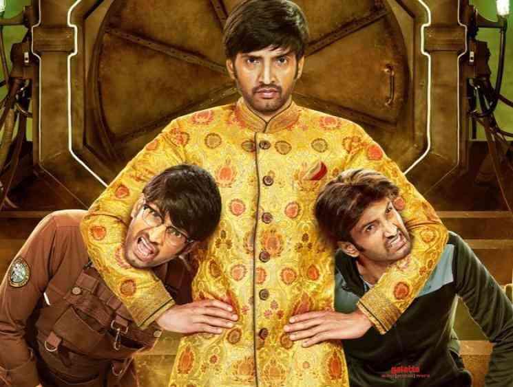 Santhanam Dikkiloona First Look Poster Released Harbhajan Singh - Tamil Movie Cinema News