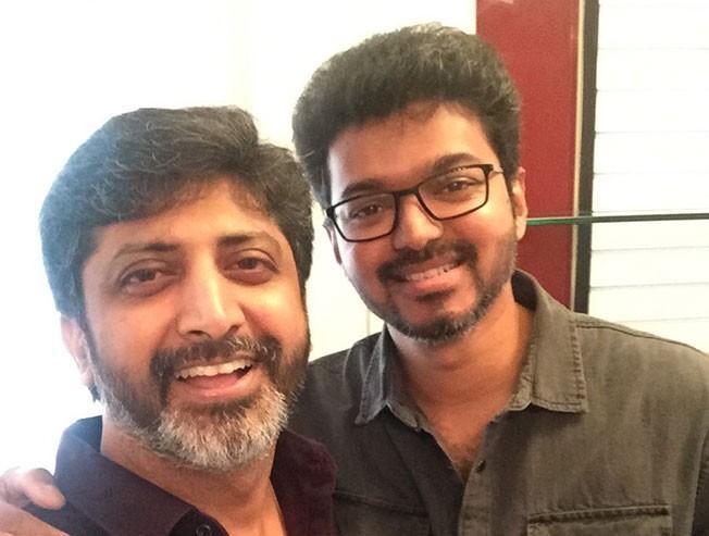 Vijay And Mohan Raja Take Time For A Casual Meet Mersal Velaikkaran