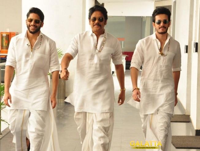 Nagarjuna confirms Chay and Akhil projects!