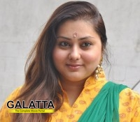 Namitha storms into politics!