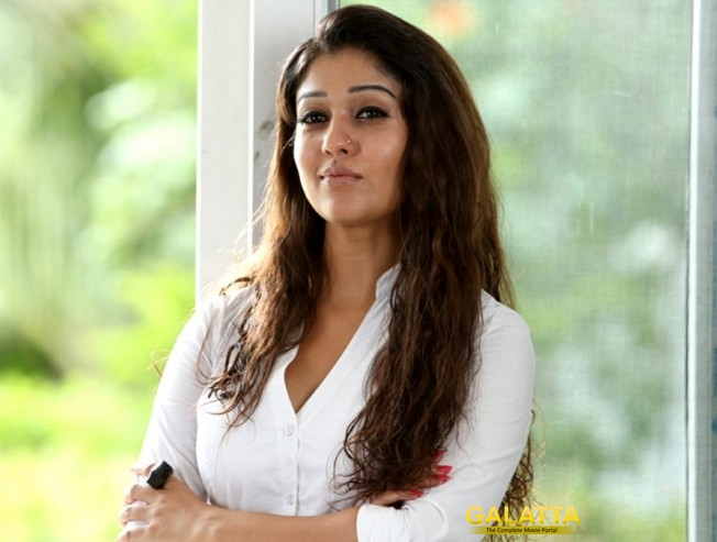 Nayantara as a daring journalist